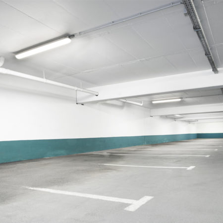Vaporproof LED parking lot