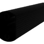 AL-LED Straight Arm for Square Pole