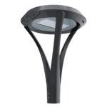Post top LED area light