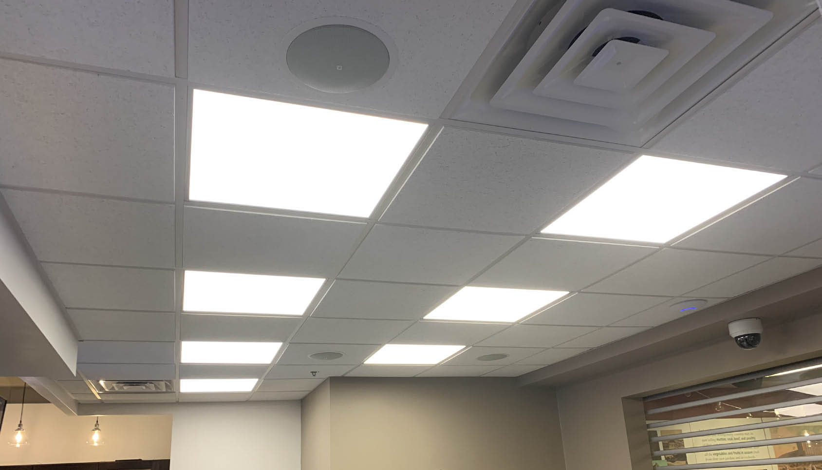 Backlit Ceiling Panels For City Kitchen Rda Lighting Inc
