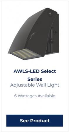 RDA Adjustable LED Lighting example-AWLS series