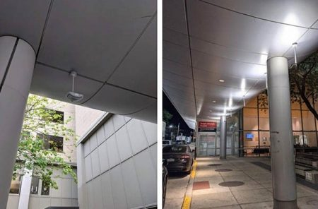 Custom LED lighting solution end result