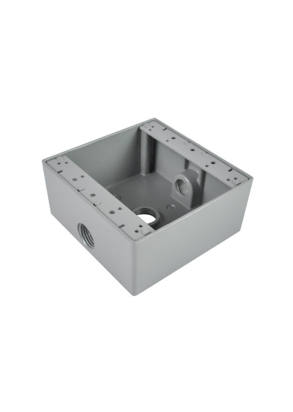 D5313/D5333 2 Gang Aluminum Box