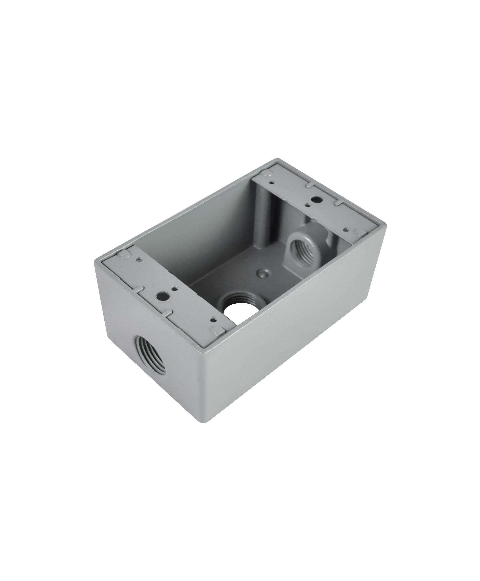 D5613/D5633 1 Gang Aluminum Box