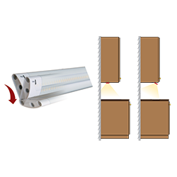 UCA under cabinet lighting bracket